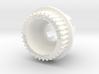 LHB 13mm 33T Wheel Pulley For ABEC Flywheels 3d printed