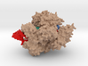 Cas9 bound to PAM-containing DNA target 3d printed