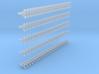 1/16 50 times M10 wingnut, 50 times M12 wingnut, 2 3d printed