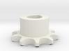 Pignone Per Catena Semplice ISO 04B-1 P6 Z10 3d printed