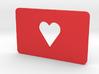 Gift Card Holder Heart Cutout 3d printed