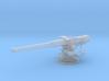 1/96 USN 4 inch 50 (10.2 cm) Sub Gun Deck 3d printed