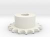 Pignone Per Catena Semplice ISO 04B-1 P6 Z16 3d printed