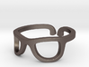 Glasses Ring Ring Size 7.25 3d printed