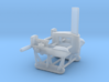 North Sea Class of WW1 1/350 scale 3d printed Engine car detail