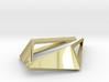 HIDDEN HEART Origami OS, Pendant. Sharp Chic 3d printed