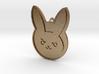 D.VA Rabbit Embem Pendant  3d printed