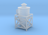 Dust Collector Style #2 Rooftop or Wall HO Scale 3d printed
