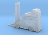 HO FORKTRUCK Industry 1/87 scale  3d printed
