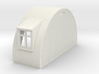 N-87-complete-nissen-hut-end-brick-door-wind-16-36 3d printed