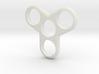 Tri-Fidget-Spinner 3d printed