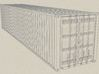 1/72 scale 40 ft Shipping Container ISO 3d printed