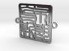 Bronx Bracelet Charm 3d printed
