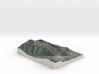Aspen Mountain, Colorado, USA, 1:25000 3d printed