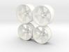 Foose Rims Torque Thrust  1/12 3d printed
