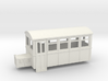009 4 wheeled railbus version 2 3d printed