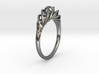 Twisted Ring Sizes 6-13 3d printed