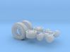 1/87th Asphalt Paver Wheels 3d printed