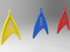 Starfleet Science Badge pendant 3d printed