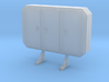 1/87 HO cabinet headache rack 3d printed