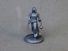 Cleric 3d printed The Cleric miniature printed in Black Hi-Def Acrylate