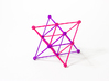 'Sprued' Star Tetrahedron Half-pack #color 3d printed