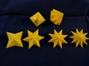 Star Dice 3d printed this is an older print; numbers have been revised to be easier to read