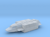 Squad Shuttle in Flight (V, The Visitors), 1/270 3d printed