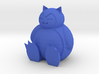 Snorlax Sitting 3d printed