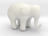 Elephant small 3d printed