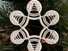 Snow Globe Snowflake Ornament 3d printed