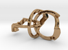 OoO Ring - Interlocking Metal 3d printed