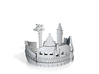 Venice Ring US10 3d printed