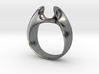 Wormhole Ring Size 7 3d printed