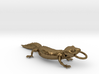 Leopard Gecko Pendant 3d printed