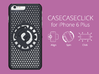 for iPhone 6 Plus : cel : CASECASE CLICK 3d printed