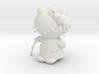 "3"" Hello Princess Figure 3d printed"