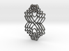 Interlocked Hearts 3d printed