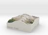 Glacier Peak, WA, USA, 1:150000 Explorer 3d printed