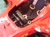 Ferrari F10 Steering Wheel and Aerodynamic Turning 3d printed Printed steering wheel and gear levers painted and installed in the model
