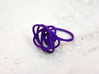 Sprouted Spiral Ring (Size 9) 3d printed Purple Strong and Flexible