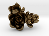 Succulent Cluster Pendant 3d printed
