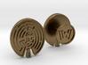 WestWorld Maze Cufflinks 3d printed