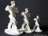 Spiral Expansion of Muscles in Movement - 15.2cm 3d printed 6 inch, 4.5 inch and 3 inch prints
