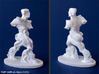 Spiral Expansion of Muscles in Movement - 7.5 cm 3d printed Photos of 3 inch print