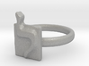 12 Lamed Ring 3d printed