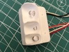 AC10008 SCX10 II XJ CHEROKEE Rear Light Housing 3d printed The housing can hold 3 LED's (sold separately).