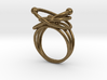 Atomic Model Ring - Science Jewelry 3d printed
