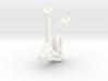 Seaking Tail Wheel 3d printed