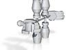 Animated Schoolteacher Spy Robot arms 3d printed